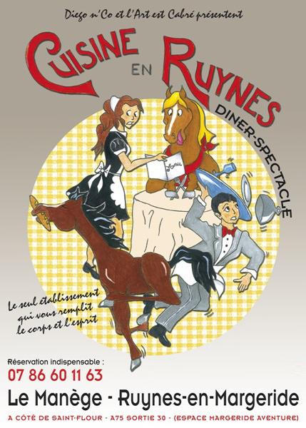 Cuisine en Ruynes